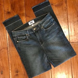 Paige Hoxton Skinny Ankle Jeans Size 28